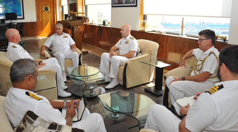 Royal Australian Navy's Frigate Visits India