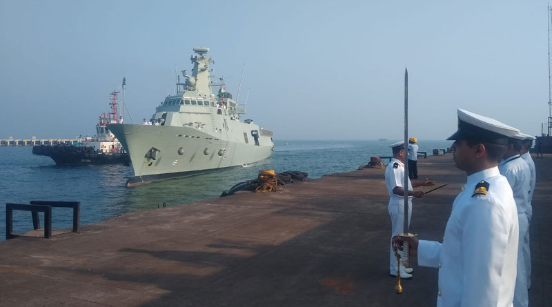 Ships of Oman Navy arrive in Goa for Bilateral Exercise