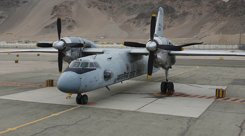 IAF's An-32 Lands at Leh with Indigenous Bio-Jet Fuel