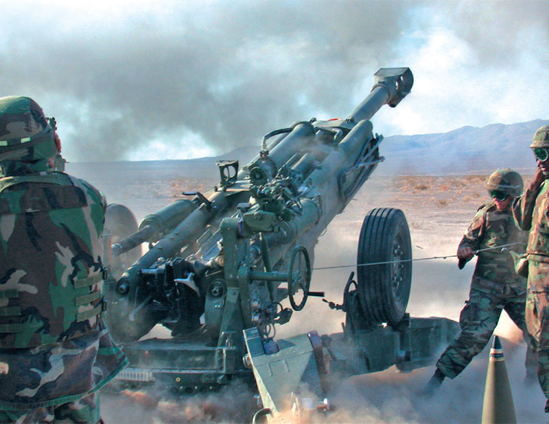 BAE Systems Highlights Make in India M777 Ultra-Light Howitzers