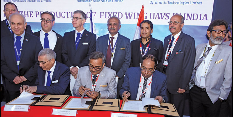 HAL signs a slew of MoUs aimed at developing unmanned systems