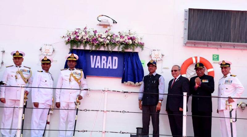 Indian Coast Guard Ship 'Varad' Commissioned at Chennai