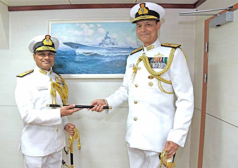 Rear Admiral K. Swaminathan Takes Over as Western Fleet Commander