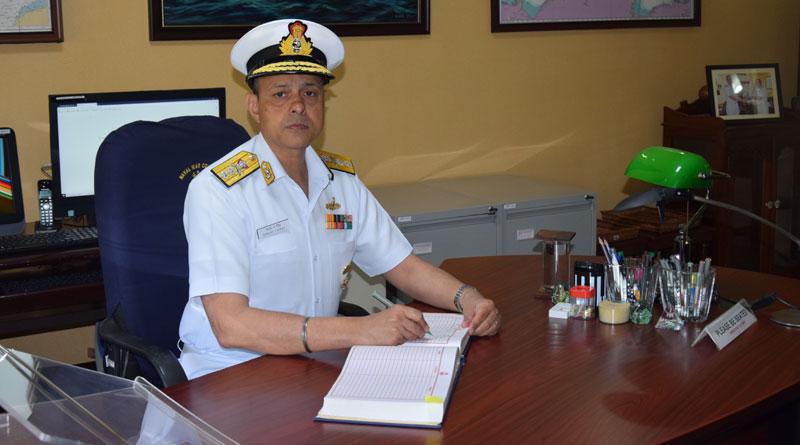 Rear Admiral Sanjay J. Singh is New Commandant of Naval War College Goa