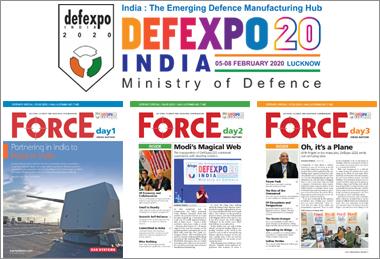 At DefExpo 2020 visit FORCE at T48 in Hall No 6