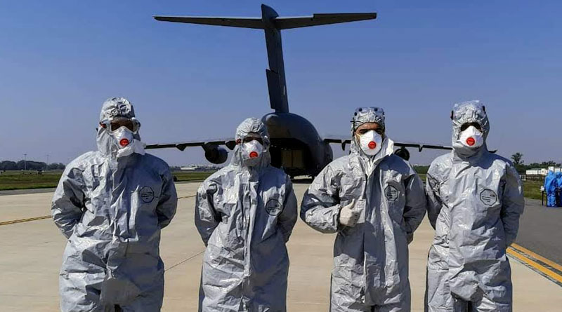 Indian Air Force Arranges Quarantine Facilities at the Air Force Station in Hindan