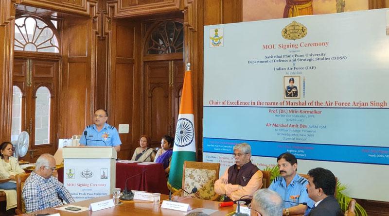 IAF, Savitribai Phule Pune University Collaborate on Academics