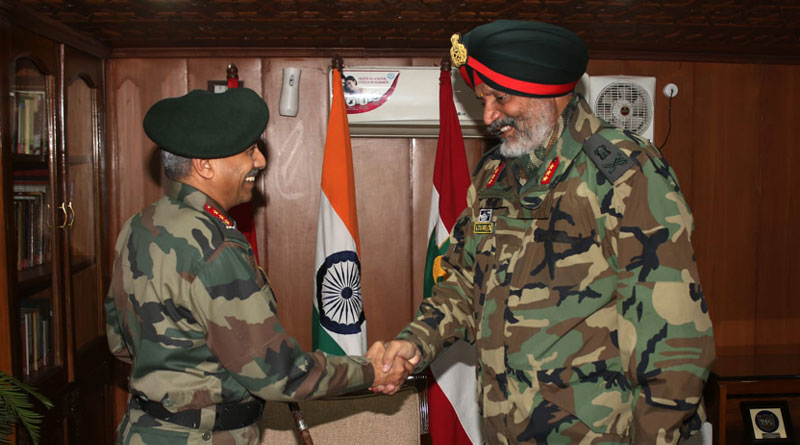 Lt Gen. Raju Took Over as the New Commander of Chinar Corps