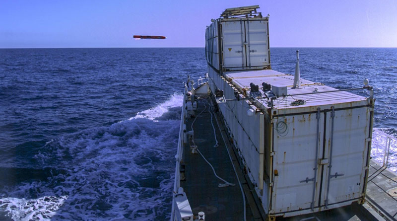 MBDA's Sea Venom/ANL Missile Succeeds in First Qualification Firing