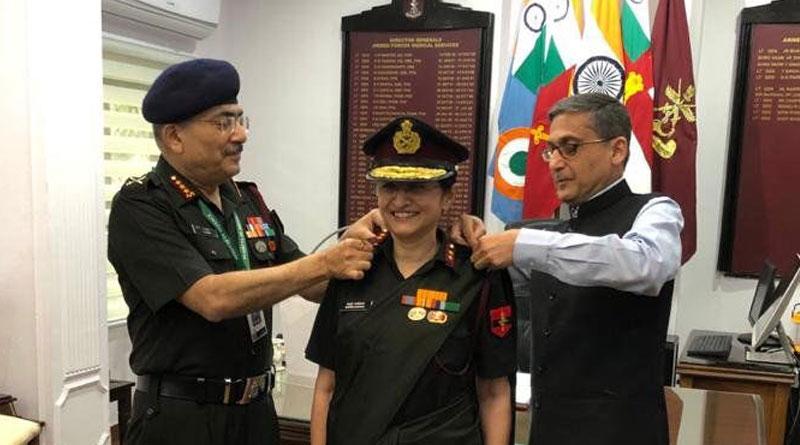 Maj Gen. Madhuri Kanitkar Eelevated to the Rank of Lt Gen