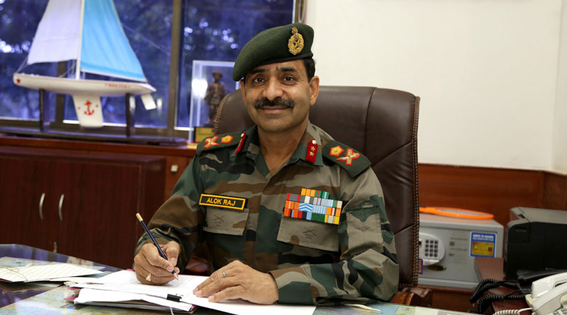 Major General Alok Raj, AVSM Takes Over as ADG, NCC Maharashtra