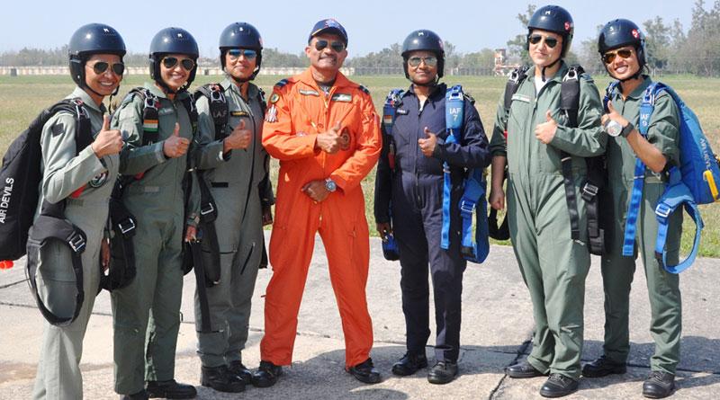 Air Force Station Sarsawa Conducts Para Jumping Adventure Course
