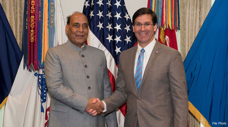 Rajnath, Esper Review Defence Ties in Telephonic Conversation