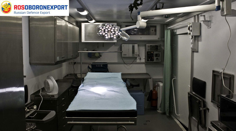 Rosoboronexport Offers Mobile Hospitals to Control Epidemics