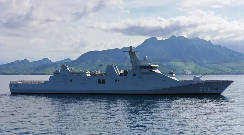 Damen Installs Combat Systems Installation and Conducts Trials on Second Indonesian Guided Missile Frigate