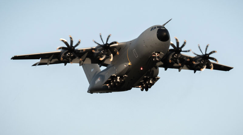 Luxembourg Armed Forces Fly Airbus A400M
