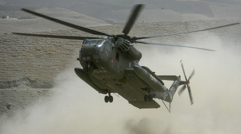 CH53 helicopter