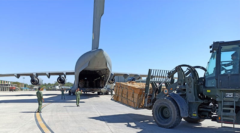 COVID-19: In Last 3 Days, IAF Airlifts 25 Tons of Medical Supplies