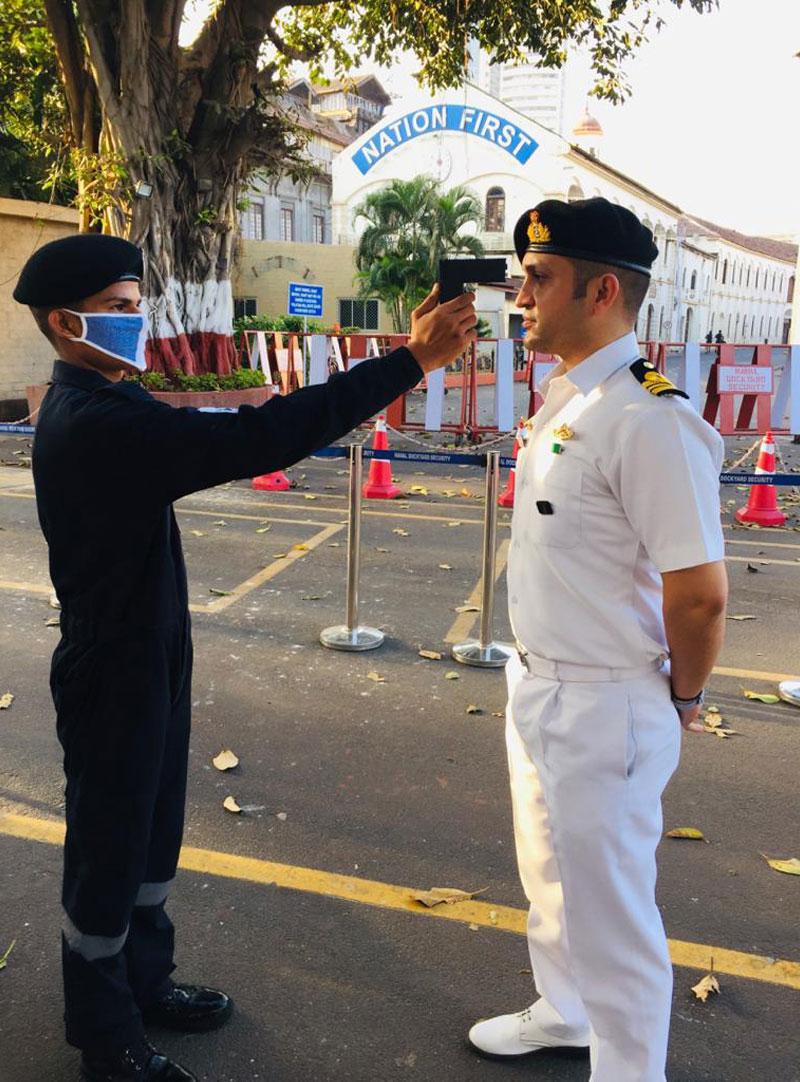 Naval Dockyard Designs, Develops Temperature Gun Under Rs1,000