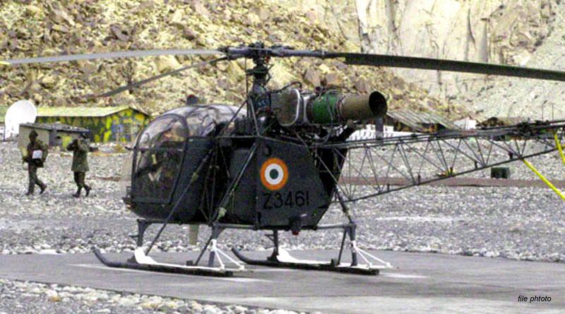 IAF's Cheetah Makes Emergency Landing