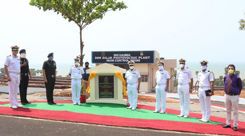 INS Kalinga Gets Two MW Solar Power Plant