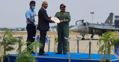 IAF Inducts LCA Tejas Produced by HAL