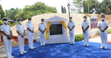 Missile Park Set Up at INS Kalinga