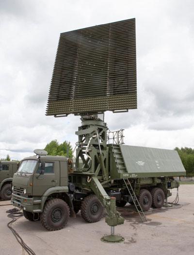 Rosoboronexport Rolls Out 59N6-TE Radar
