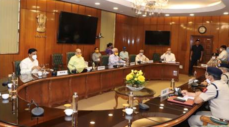 Amit Shah Chairs a Review Meeting of Directors General of All Central Armed Police Forces