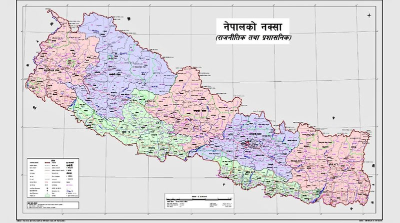 India Dubs Nepal's New Map 'Unjustified Cartographic Assertion'