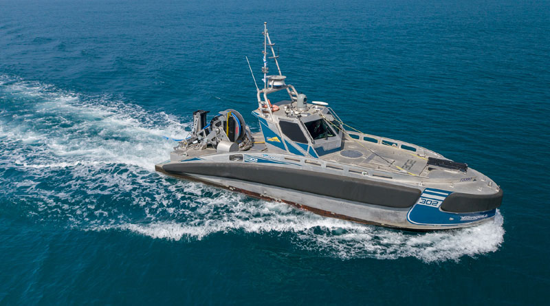 Elbit Systems Seagull USV recently integrated with TRAPS-USV
