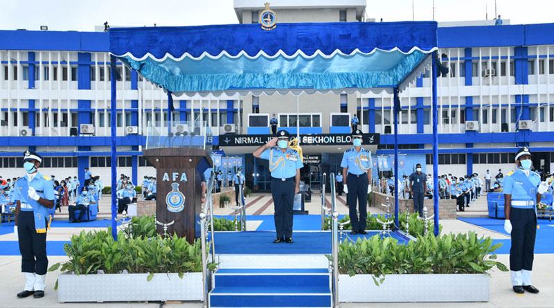 IAF Gets New Batch of 123 Officers
