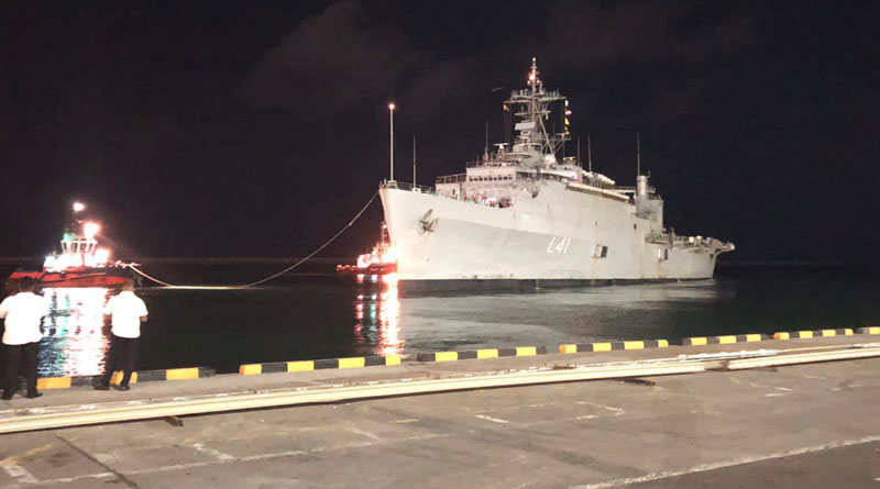 On Her 3rd Trip, INS Jalashwa Brings 685 Indians Back Home From Colombo