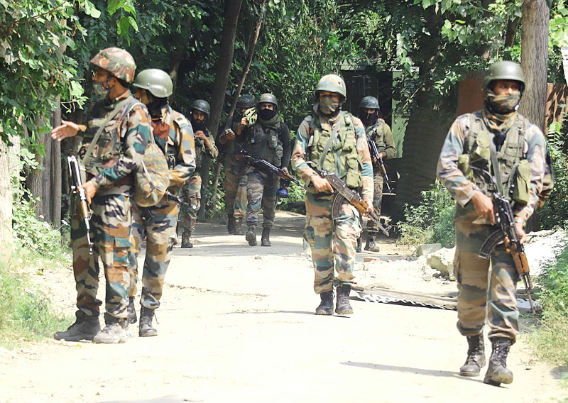 Army Launches a Cordon Against Militants at Ranbirgarh