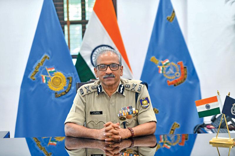 Director General, Central Reserve Police Force Dr A.P. Maheshwari