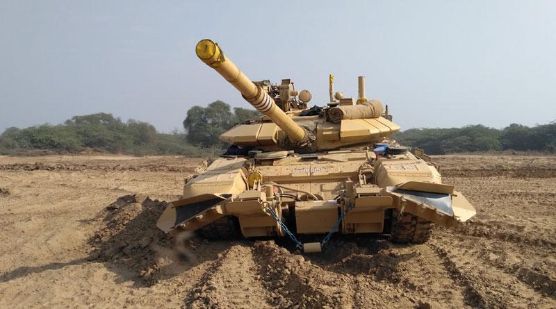 BEML Gets Order for 1,512 Mine Plough for T-90 Tanks