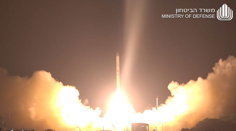 Israel Ministry of Defense and IAI Launch the 'Ofek 16' Reconnaissance Satellite