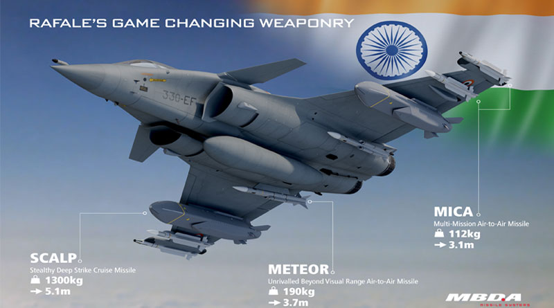 India's Rafale Armed With 'Game-Changing' Missiles