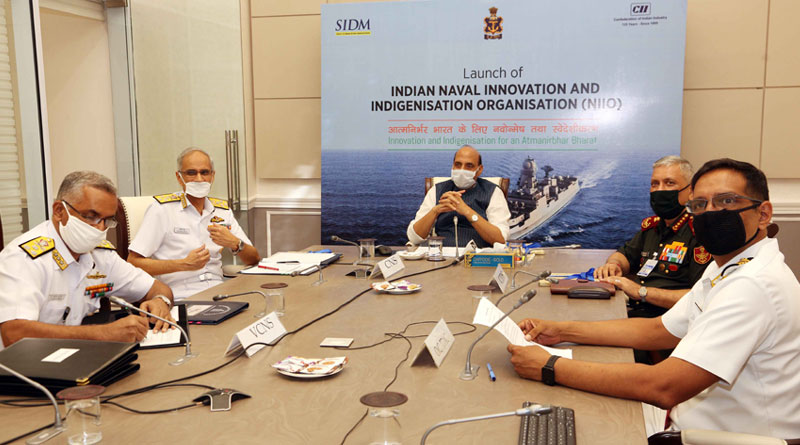 Defence Minister Rajnath Singh Launches NIIO