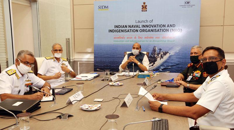 Defence Minister Rajnath Singh Launches NIIO