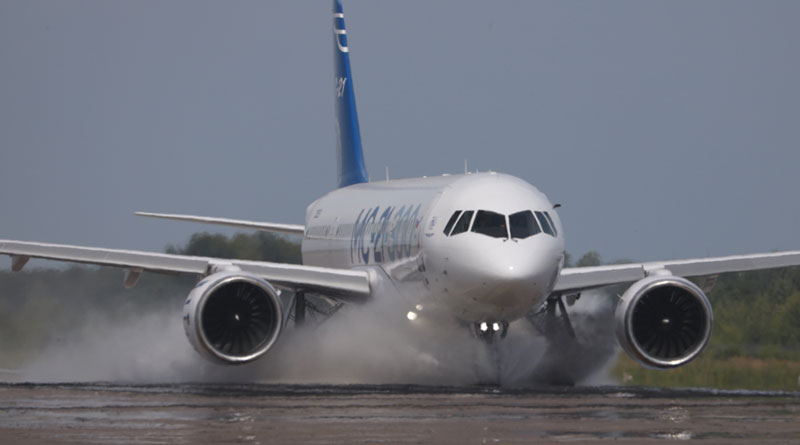 Preliminary Results of MC-21-300 Aircraft Tests Summed Up