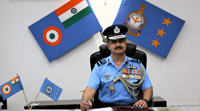 Air Marshal V.R. Chaudhari Assumes Command of Western Air Command