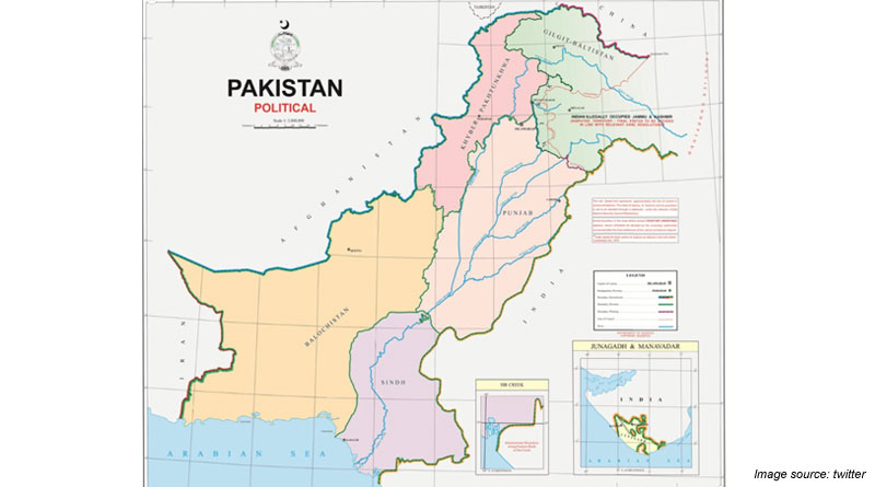 Pakistan releases new political maps, claiming the whole of J&K and parts of Gujarat
