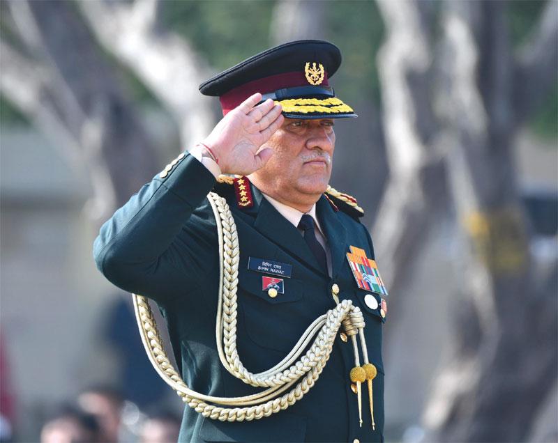 Chief of Defence Staff, General Bipin Rawat