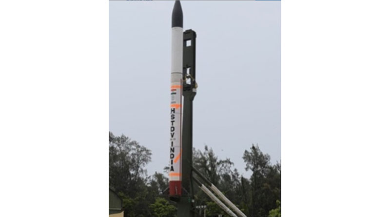 DRDO Test Fires Hypersonic Missile