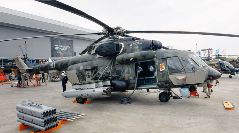 Rosoboronexport's Exports in Military Helicopters Go Up