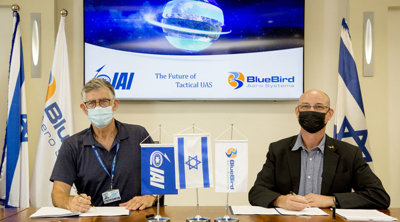 Fifty Percent of BlueBird Aero Systems Acquired by IAI