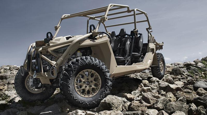 Polaris Develops New MRZR Alpha Light Tactical Vehicle