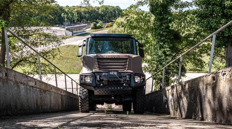 Arquus launches its New ARMIS 6x6
