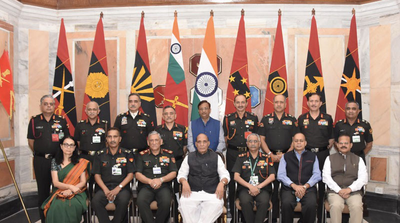 Army Commanders' Conference Held
